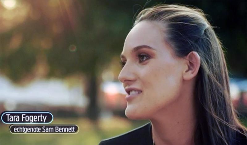 Video: Tara Fogerty, wife of Sam Bennett speaks of Sam in ...